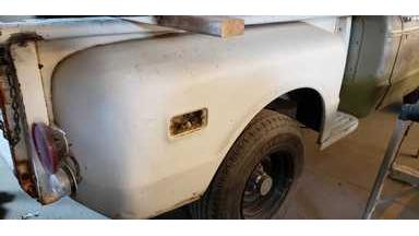 1970 Chevy truck short step side bed