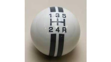 SHIFT BALL, W/O RALLY STRIPE, 5 SP, WHITE/GRAY 2-1/8