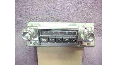 64 Buick Skylark Special AM Radio - Plays Well - Model 980649