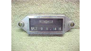58 Chevrolet Bel Air 210 150 Radio Face Plate