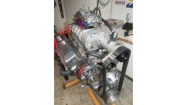 Race Engine Supercharged Small Block Chevy